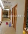 賓館酒店用橫紋木皮烤漆門 5
