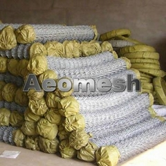 PVC Chain Link Fence Panels, Chain Link Wire Mesh