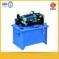 AC or DC hydraulic power unit pack for