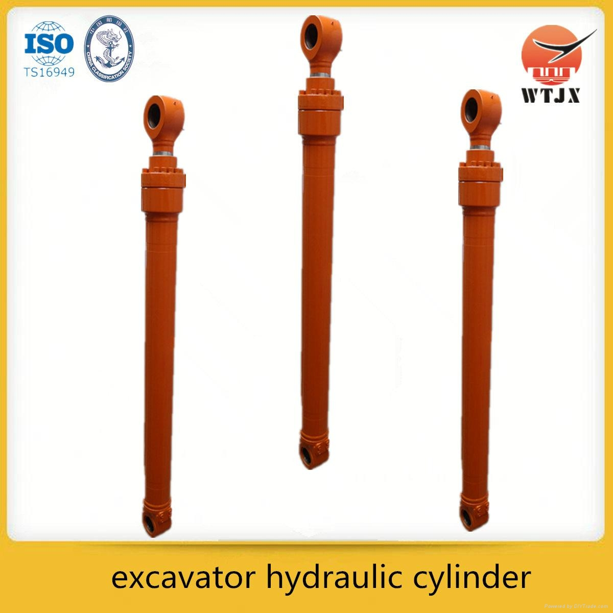 CE ISO 9001certificate hydraulic jack for car lift or agriculture 3
