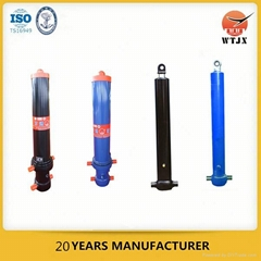 front-end lifting hydraulic ram cylinder