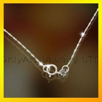 fashion 925 sterling silver bead chain 3