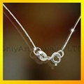 fashion 925 sterling silver bead chain 4