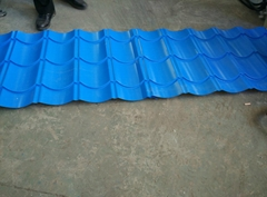 PPGI Sheet Roof Tile Roll Forming Machine