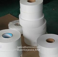 Custom White Warranty Label Adhesive Destructible Vinyl Paper