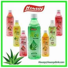 2016 FDA HACCP HOUSSY 500ml fresh healthy aloe vera drink