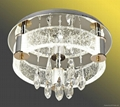Zuosi bubble crystal modern ceiling lamp 1