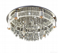 Zuosi bubble crystal modern ceiling lamp 2