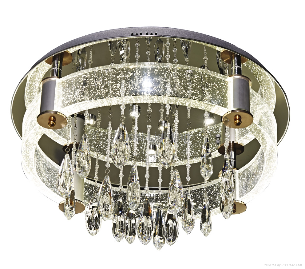 Zuosi bubble crystal modern ceiling lamp 5