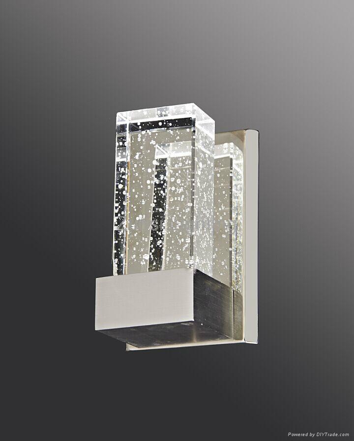 Decorative modern bubble crytstal led wall lamp 3