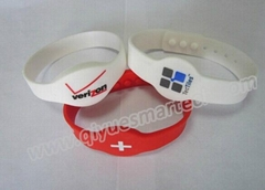 ISO14443A Silicon RFID Wristband With Chip