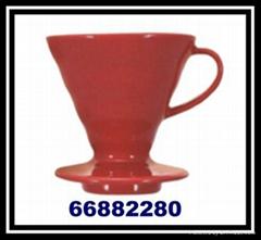 Coffee Dripper Filter Cu