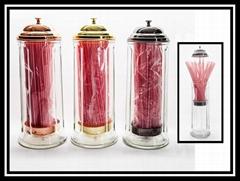 玻璃制吸管放置瓶