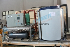 Freshwater and Seawater Flake ice machines (1ton~60Ton)