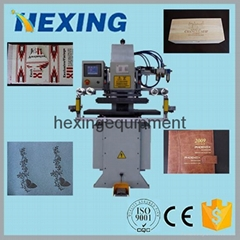 Automatic Hot Foil Stamping Machine Heat Press Stamping Printer for Card