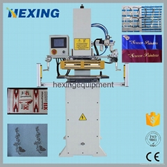 Automatic Hot Foil Stamping Machine Heat Press Printer for rubber leather