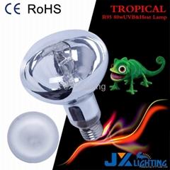 R95 80w reptile uvb mercury bulb uv heat lamp