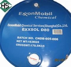供應埃克森美孚脫芳烴Exxsol™ D80碳氫溶劑油