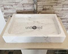 square stone wash basin marble vessel sink factory supply bathroom sinks bathtub