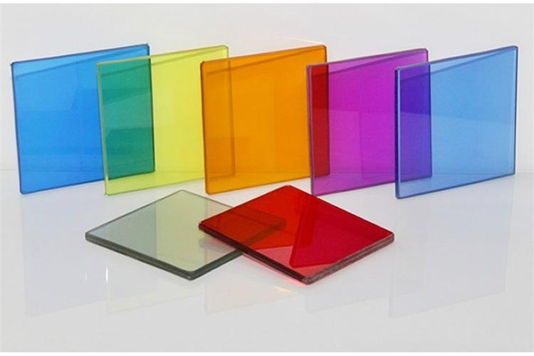 有色夾層玻璃 3