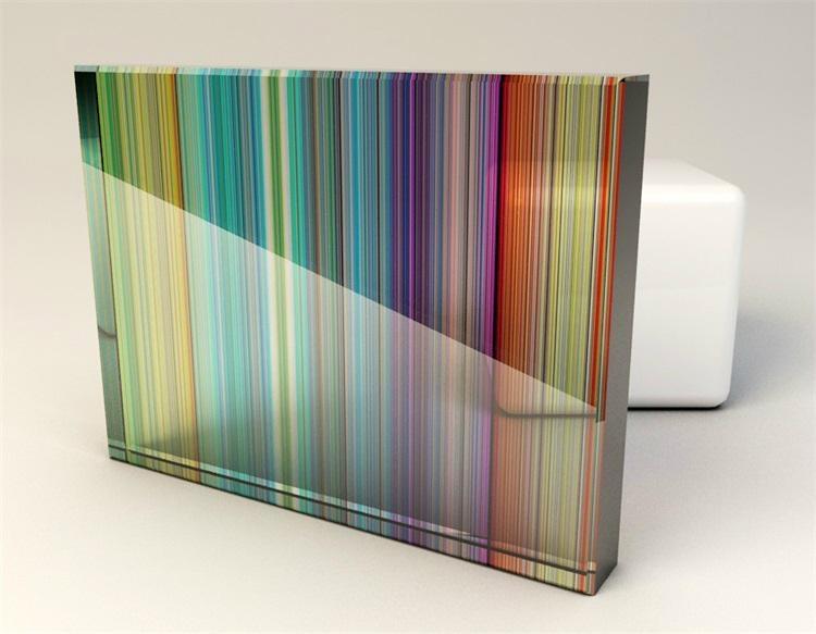 有色夾層玻璃 4