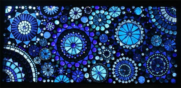 Mosaic glass 3