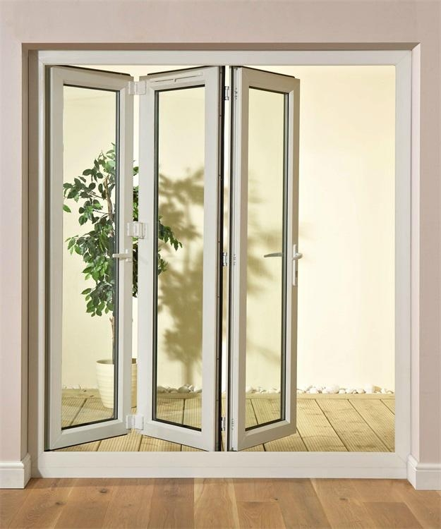 Triangle Folding Doors : Plastic steel folding door psfd dexing china trading