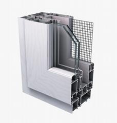 Aluminum window and door profile