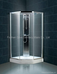 easy assembly free standing shower cabinet cubicle Click Shower
