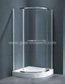 800x800mm Pivot Door Shower Cubicle