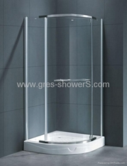 800x800mm Pivot Door Shower Cubicle
