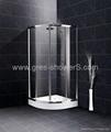 Curve Quadrant shower enclosure shower