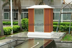 Outdoor Steam Shower: ZA235