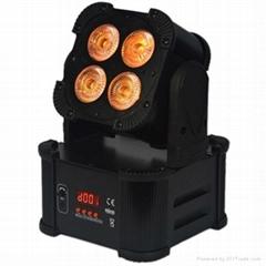 4X12W 6IN1 Battery Wireless Uplight Battery Powered Light DMX LED Stage Light