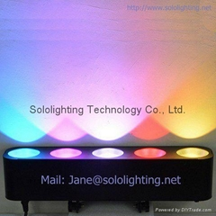 5X15W COB RGB LED Bar Stage Light