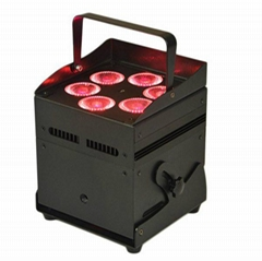 6X12W 6IN1 Battery  Wireless Uplight Battery Wireless Light  DMX LED Stage Light