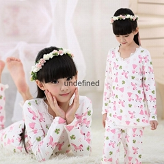 Children Clothing Sets baby girl's pajamas suits Girls Clothing Sets print sleep