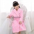 High quality children winter bathrobe