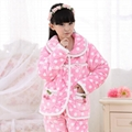 Children's pajamas set three layer