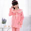 Children high quality Pijamas Flannel Princess pyjama Set 2