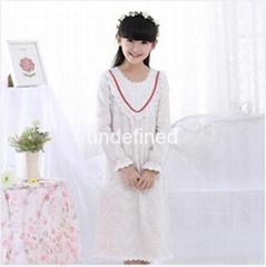 Long Sleeve Lace Pajamas
