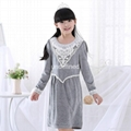 Long lace Nightgown children's pajamas
