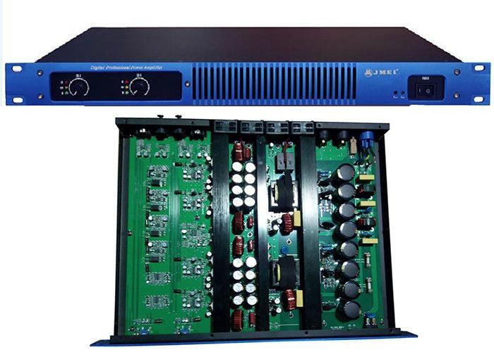 High Power Wireless Stereo 1U Digital Power Amplifier 750W For Club ...