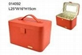 custom-made rectangle rigid PU leather