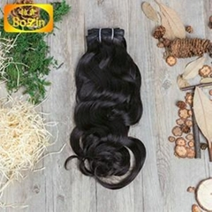Wholesale free shipping 1b natural color INDIAN rebecca hair