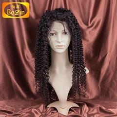 Qingdao Bolin factory selling grade 7a indian women hair wig