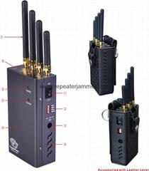 2Watt radius up to 15 meters mobile signal jammer blocker isolator manufacturer