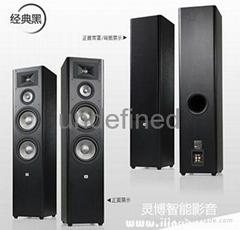 JBL Studio290落地音箱演绎低音