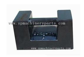 中国金牌供应商低价定制喷漆铸铁砝码 1