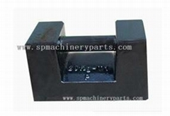 China gold supplier cheap OEM 20kg iron cast test weight with painting